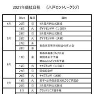2021年競技日程